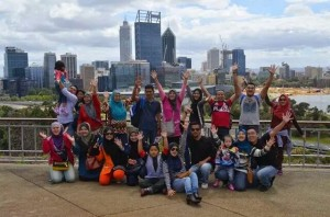 Group Ummi Vacation di Perth