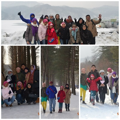 Korea Muslim Tour, Winter in Seoul